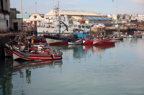 Morocco Casablanca Boat Port Maritime Workshops
