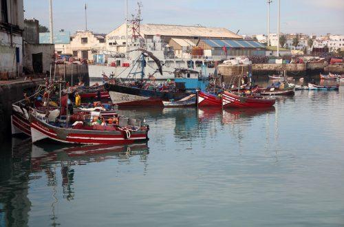 Morocco Casablanca Boat Port Maritime Workshops